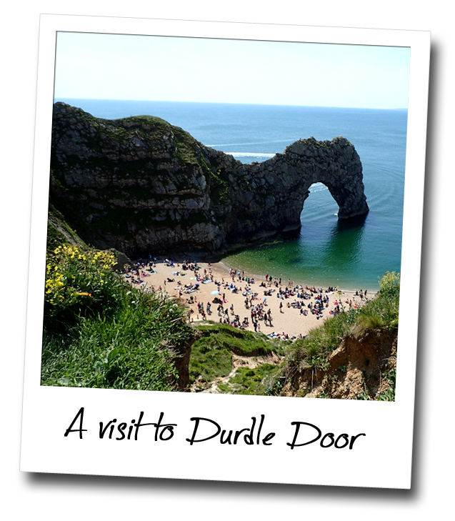 The Stunning Durdle Door, within easy reach of Naturist Nudist Studland Summer Camp in Dorset