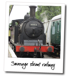 The magnificent Swanage Railway, just a stone throw away from Studland Summer Camp